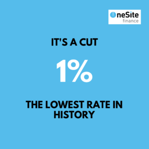 It's a rate cut