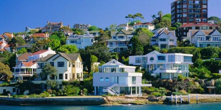 Homes on Sydney Harbour