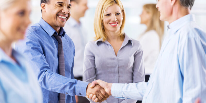 Business people closing the deal by shaking hands.   [url=http://www.istockphoto.com/search/lightbox/9786738][img]http://dl.dropbox.com/u/40117171/group.jpg[/img][/url]  [url=http://www.istockphoto.com/search/lightbox/9786622][img]http://dl.dropbox.com/u/40117171/business.jpg[/img][/url]